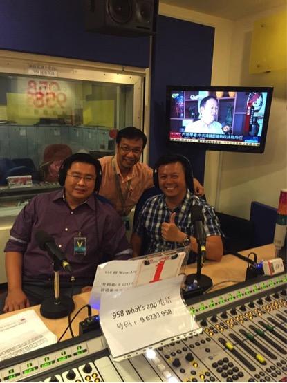 男言之隐 radio talkshow!Capital 95.8 FM 邱胜杨 answering some questions from the public regarding bedroom issues