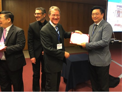 Dr Tan appointed as Vice-President of the GCASMA by Professor Luca Incrocci, President of the ISSM in 2018