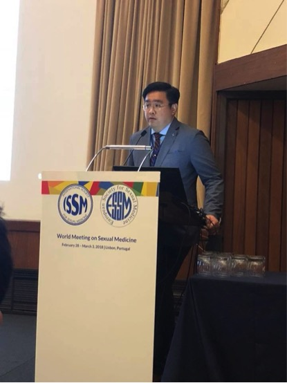 Dr Tan invited to speak on Androgens at the World Meeting on Sexual Medicine 2018 in Lisbon, Portugal