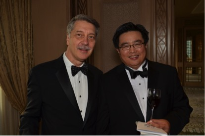 Dr Tan with his mentor Professor Wayne Hellstrom during his fellowship graduation in 2014